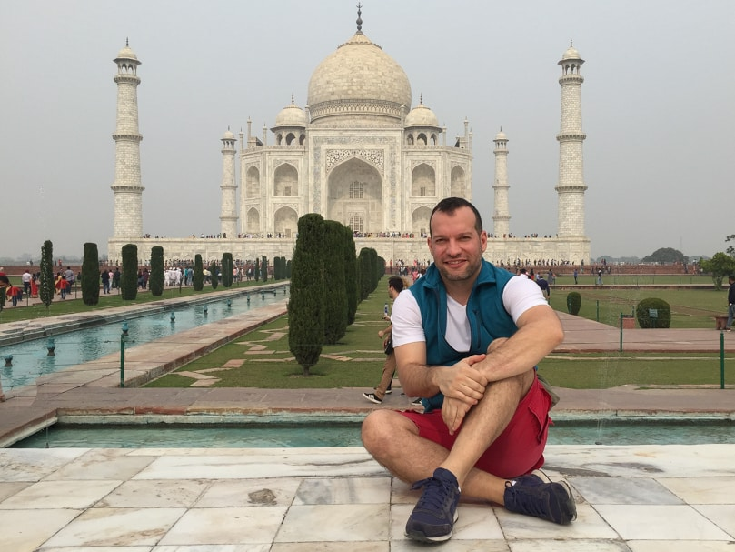 guia para visitar el taj mahal india
