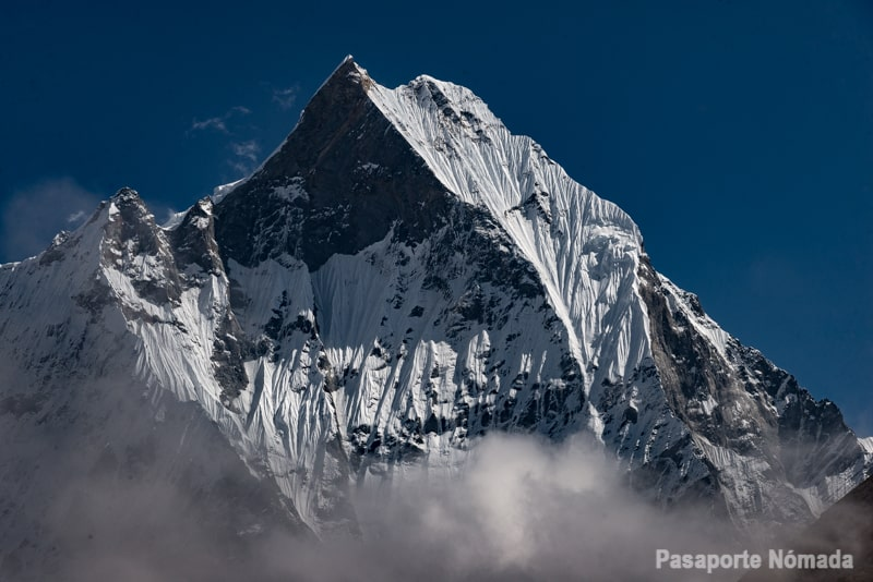 pico machapuchare nepal