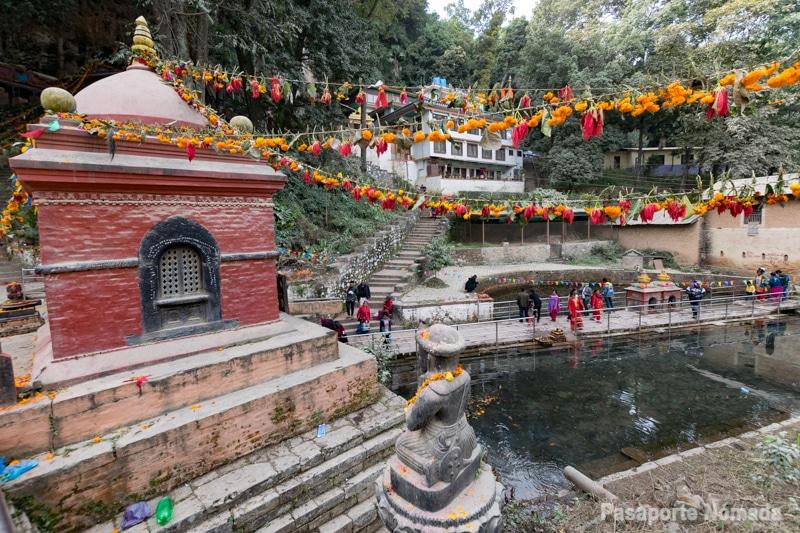 templo de shes narayan lugares de interes de pharping