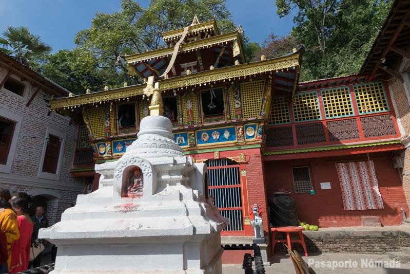 templo de vajrayogini en pharping