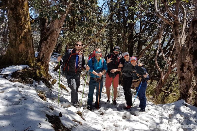 trekking ghorepani poon hill