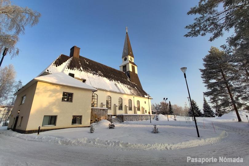 iglesia rovaniemen kirkko