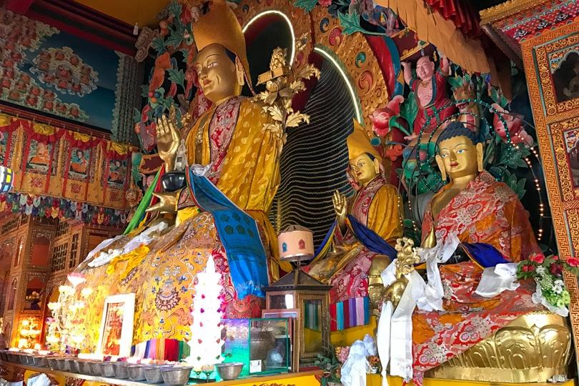que ver y que hacer en el valle de kathmandu monasterio de kopan