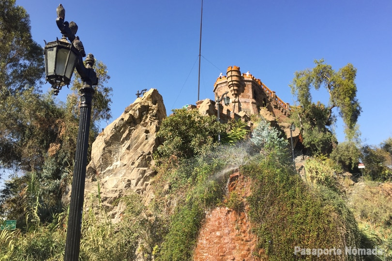 cerro de santa catalina santiago de chile