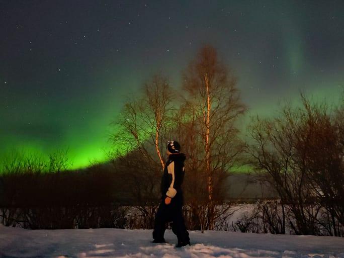 como y donde ver las auroras boreales en rovaniemi