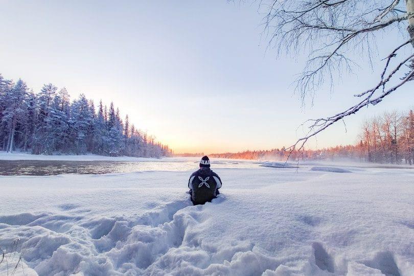 visitar el area de senderismo circulo polar rtico laponia