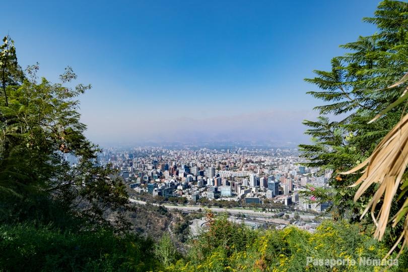 vistas hacia santiago de chile desde el cerro de san cristobal que ver en 2 dias
