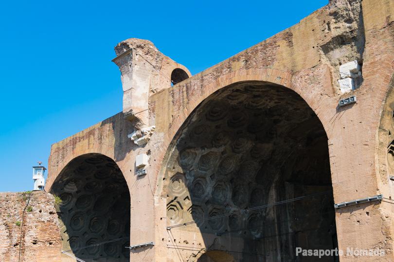 basilica de majencio y constantino