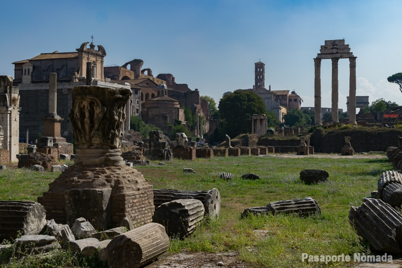 que ver en roma en 4 dias foro romano