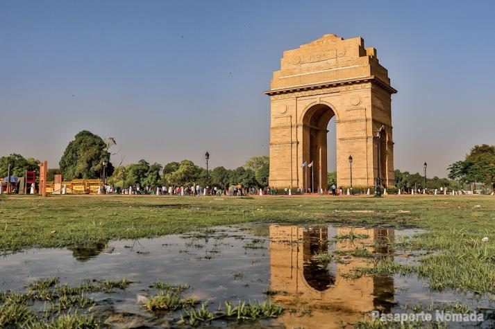 delhi puerta d ela india