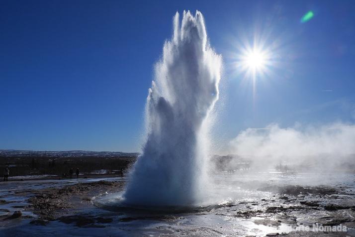 geyser strokkur ruta de 10 dias por islandia en caravana