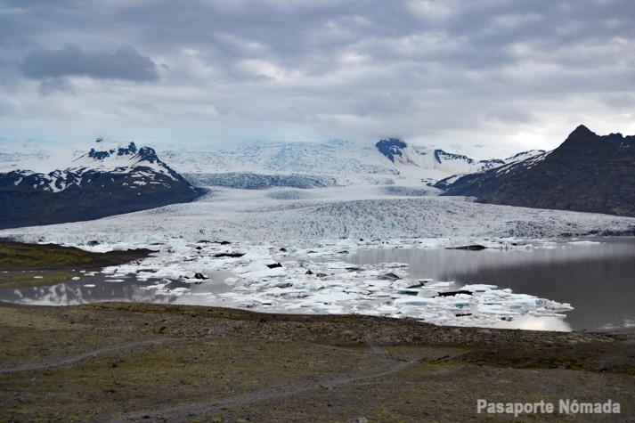 laguna glaciar de fajalsarlon islandia