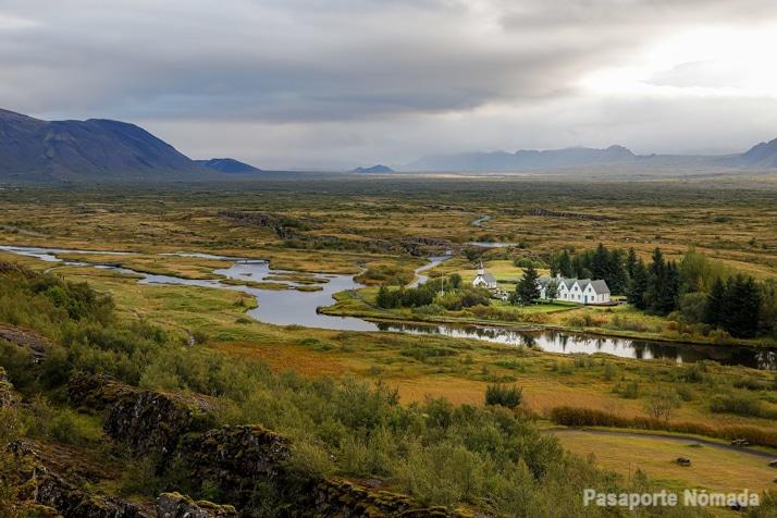 ruta 10 dias por islandia parque nacional de thingvellir