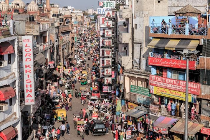main bazar que ver en delhi