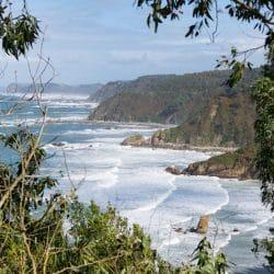 ruta d ela costa occidental de asturias