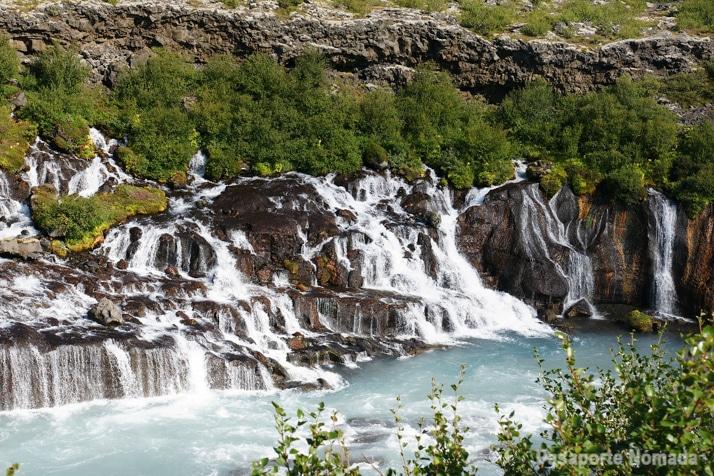 cascada de hraunfossar